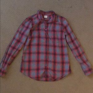 J Crew button-down shirt, size small.